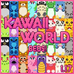 Kawaii World! Beds Minecraft Texture Pack