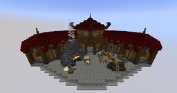 Simple Orc Guild Hall Minecraft Map & Project