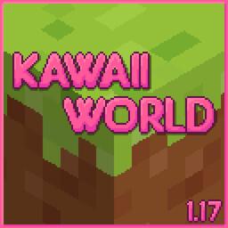 Kawaii World! 1.17 Minecraft Texture Pack