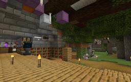 Underground Ravine Base Minecraft Map & Project