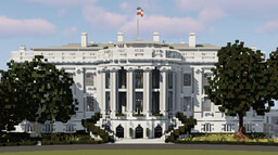 The White House   Visionary Creative Minecraft Map & Project