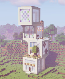Cubo⁴ - A modern cubic House Minecraft Map & Project