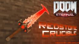 Doom Eternal Redstone Crucible (Netherite Sword) Minecraft Texture Pack