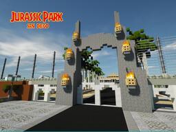 Jurassic Park San Diego Minecraft Map & Project
