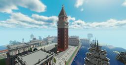 Venedig Campenile de San Marco + (Bedrock Edition) Minecraft Map & Project