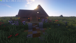 A beatiful Minecrafty House with a Underground weed farm Minecraft Map & Project
