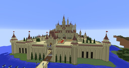 Far Far Away Castle (Shrek) Minecraft Map & Project