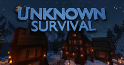 Unknown Survival - Custom Mobs, Items, Furniture, Terrain And More! Minecraft Server