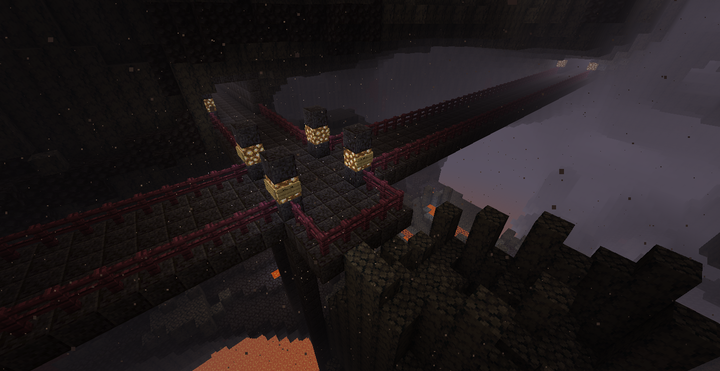 Some streets in the Nether.
