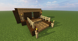 Redstone tiny-build: iron fence [1.17.1] Minecraft Map & Project