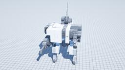Gona B40/sa Assault Walker Minecraft Map & Project