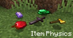 Item Physics Minecraft Texture Pack