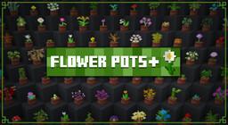 Flower Pots + Minecraft Texture Pack