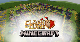 Clash of clans [Every building with every upgrade] (from th1 to th14) Minecraft Map & Project