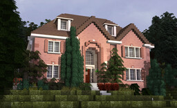 Canton Hills McMansion 1 | TRS Minecraft Map & Project