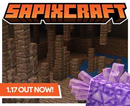 🔶 Sapixcraft  |  1.17  |  512x - 16x Minecraft Texture Pack