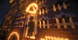 warrior's building (neomedieval+Chicago style  architecture) Minecraft Map & Project