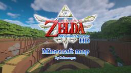 The Legend Of Zelda: Skyward Sword Map Minecraft Map & Project