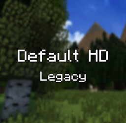 Default HD Legacy Minecraft Texture Pack
