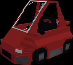 A Sports Car I created in Blockbench. Minecraft Blog