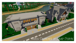 Abby Duplexes at River Pointe : Alleron City Minecraft Map & Project