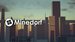 Minedorf v21.10 - One of The Largest Cities in Minecraft Minecraft Map & Project