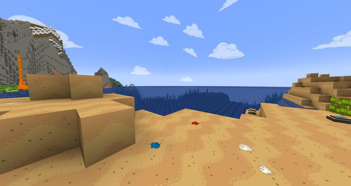 Beach custom sand