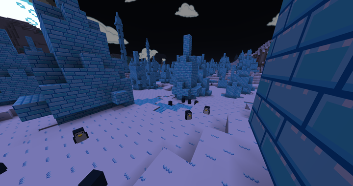 Chickens in snowy biomes will be penguins