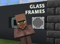 Glass Frames Minecraft Texture Pack