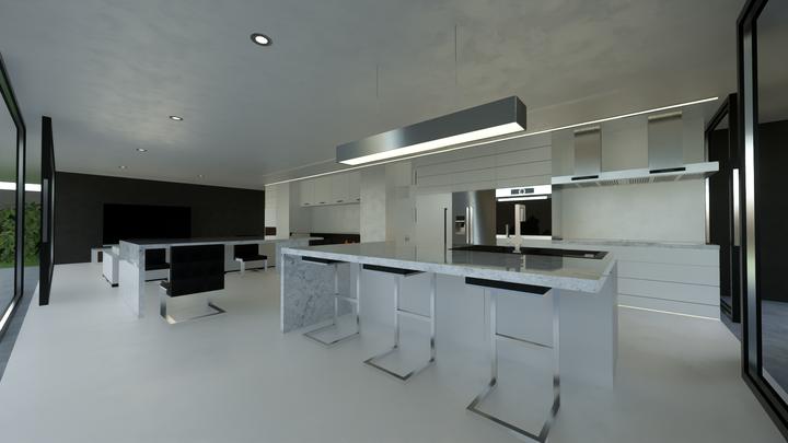 Living, Dinning, Kitchen