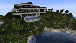 Modern redstone house Minecraft Map & Project