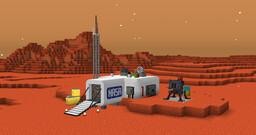 Perdido Em Marte Minecraft Map & Project