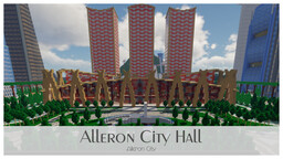 Alleron City Hall Minecraft Map & Project