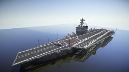 Original Light aircraft carrier 〝Peacock Class〟 Minecraft Map & Project