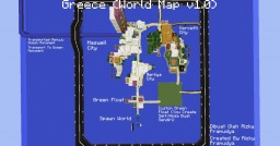 Greece (World Map v1.1) [Preview] Minecraft Map & Project