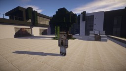 Contemporary House | Monochromatic Minecraft Map & Project