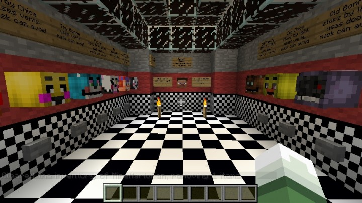 Fnaf 2 multiplayer minecraft map myideasbedroom com