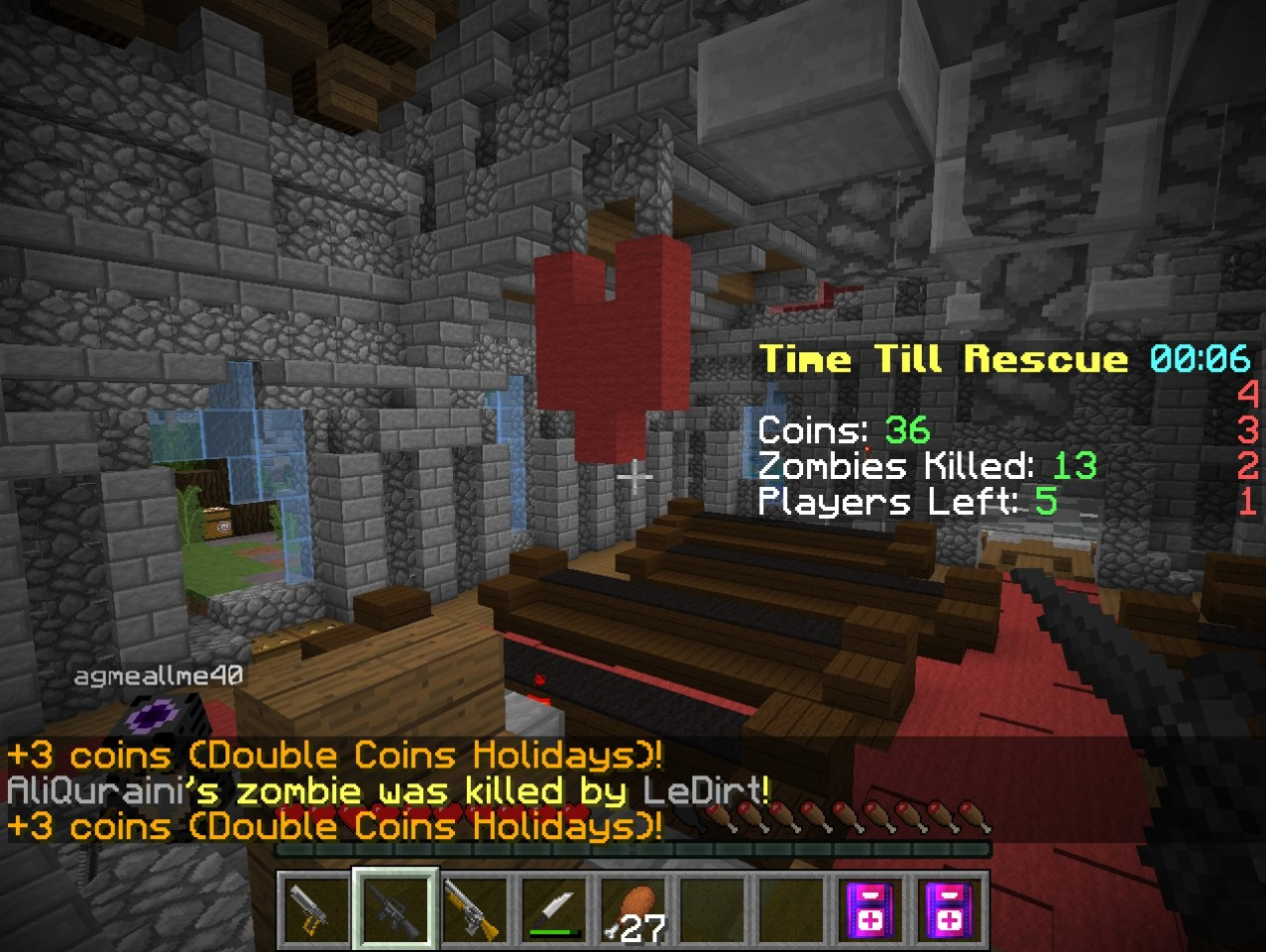 minecraft blocking dead server