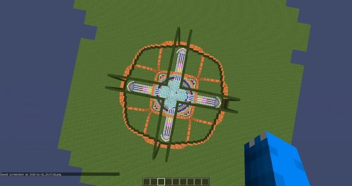 Crazycraft Spawn Minecraft Project