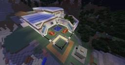 AUTOMATIC REDSTONE HOUSE / CASA AUTOMATICA DE REDSTONE Minecraft Map & Project