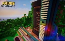 Pallet Town - Wonder Trade Center Minecraft Project