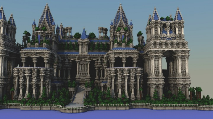 Image Gallery minecraft palace