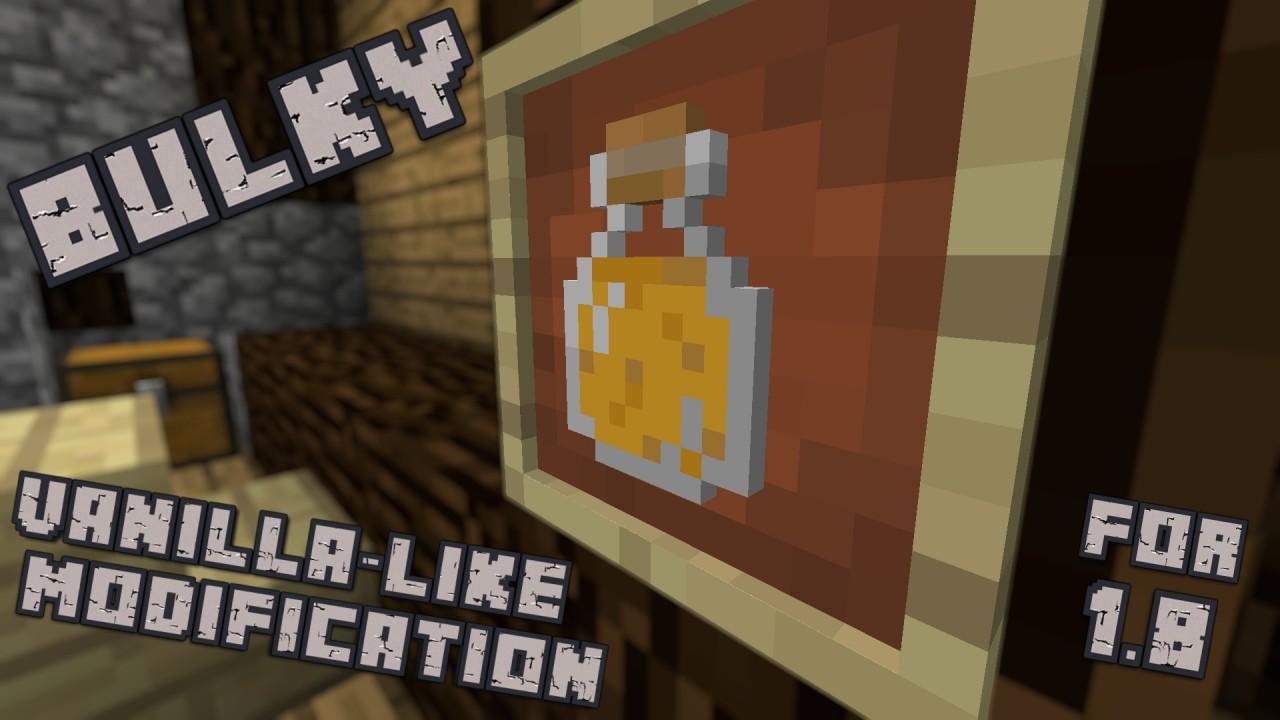 Bulky Minecraft Mod