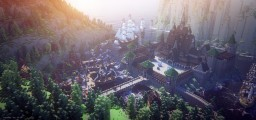Minecraft Frozen - Arendelle Minecraft Map & Project
