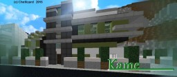 Kame - A Modern House to Start 2015 Minecraft Map & Project
