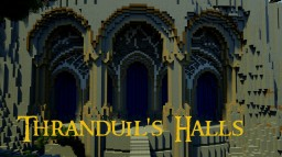 Elvenking Thranduil's Halls Minecraft Map & Project