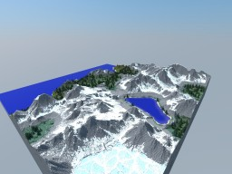 1000x1000 Mountainous Terrain Map + Download (Custom Terrain)