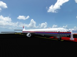 Malaysian Airlines 777 Minecraft Map & Project