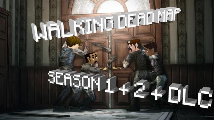 Walking Dead Game Map Season 1 + 2 + DLC Minecraft Project
