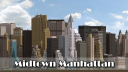 Midtown Manhattan, New York City (DOWNLOAD V2.0) Minecraft Map & Project